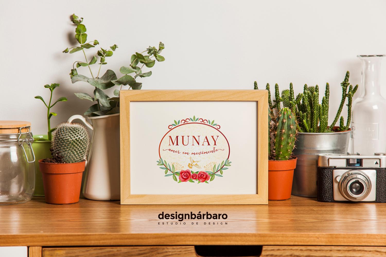 Logotipo Munay