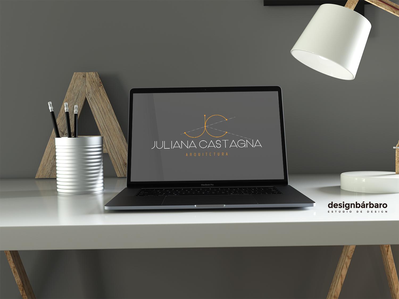 Logotipo Juliana Castagno