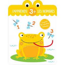 Livre éducatif- J'apprends les nombres 3+