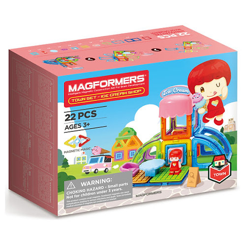 Magformers- Ice cream shop