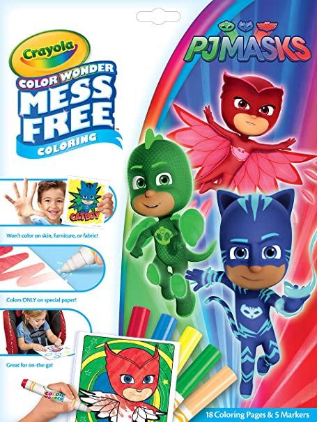 Crayola Mess Free PJMASKS