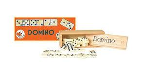 domino en bois