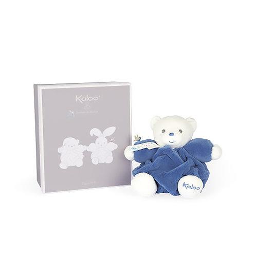 Kaloo- Chubby Petit ours Bleu-Océan  18 cm