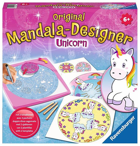 Mandala-designer Unicorn
