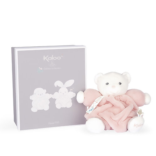 Kaloo- Chubby Petit ours Rose-Poudre   18 cm