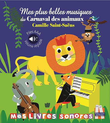 Livre sonore- Mes plus belles musiques du carnaval des animaux