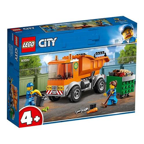Lego City Le camion de poubelle