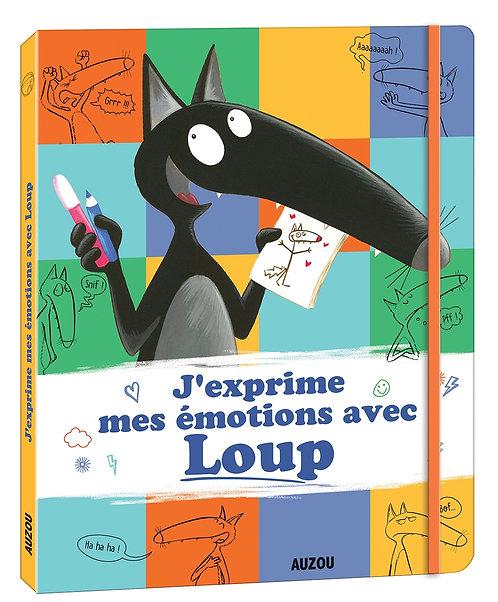 Livre éducatif- J'exprime mes émotions avec Loup