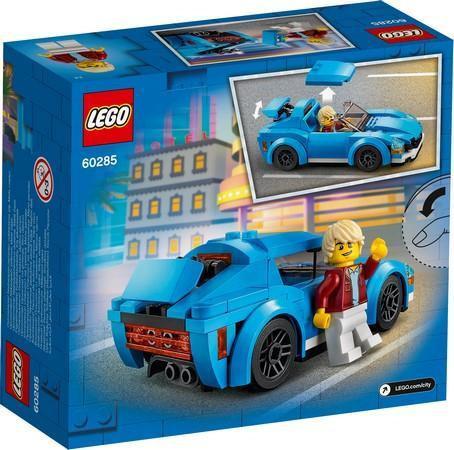 Lego La voiture de sport