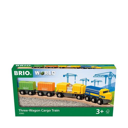 Brio- Long train de marchandise