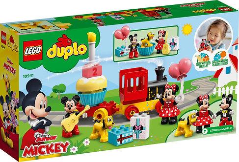 Lego Le train d'anniversaire de Mickey et Minnie