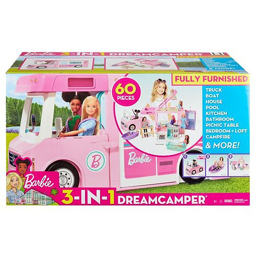 Barbie  Camping-car de rêve 3-en-1