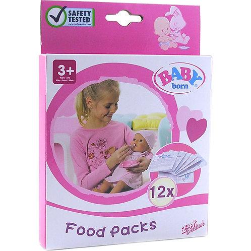 Baby Born, Paquet de 12 sachets de nourriture