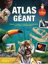 Livre découverte- Mon atlas géant