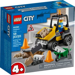 Lego Le camion de chantier