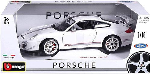 Burago- Porsche 911 GT3 RS 4.0   1/18