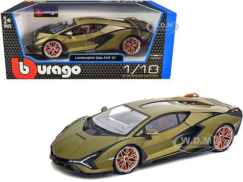 Burago- Lamborghini Sian FKP 37   1/18