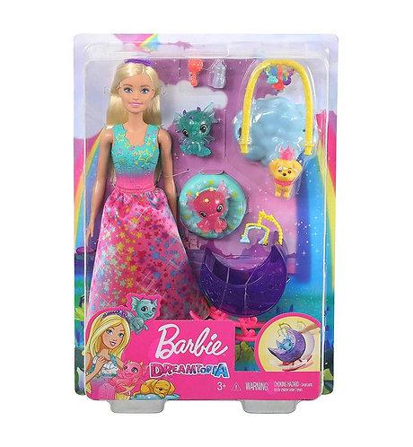 Coffret de jeu Pouponnière de dragons Barbie Dreamtopia avec poupée Barbie