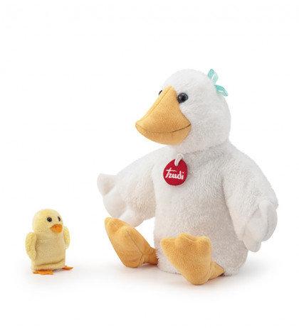 Trudi - Marionnette Canard et son bébé 25 cm