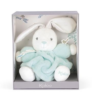 Kaloo- Chubby Petit Lapin Aqua  18 cm