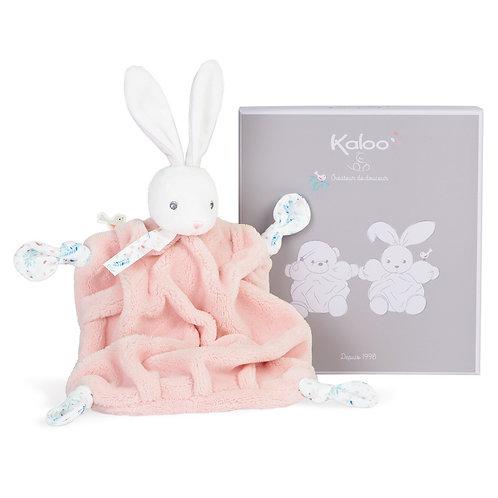 Kaloo- Doudou Lapin Rose-poudre 20 cm