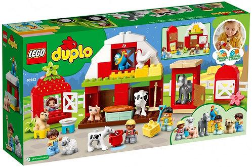 Lego La grange, le tracteur et les animaux