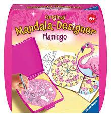 Mandala -Designer Flamingo