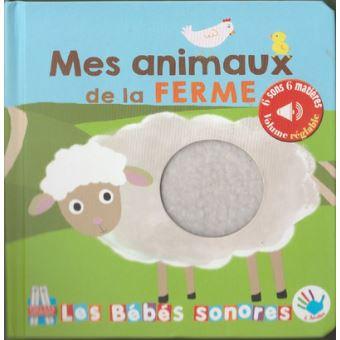Livre sonore- Mes animaux de la ferme