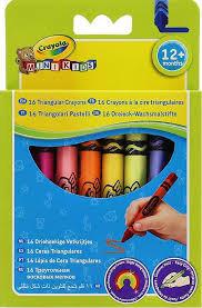 16 crayons à la cire