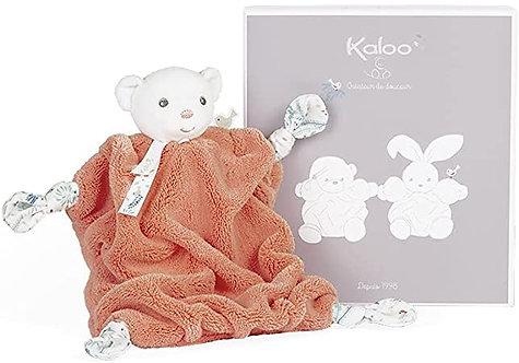 Kaloo-Doudou ours corail 20 cm