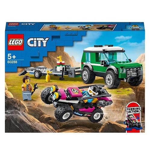 Lego City Le transport du buggy