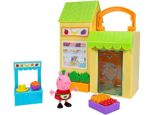 Peppa Pig petit marché fermier 18 cm