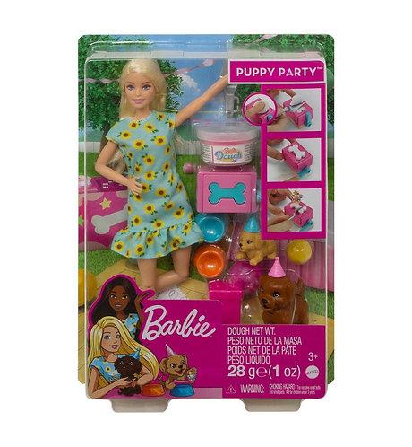 Barbie anniversaire des chiots