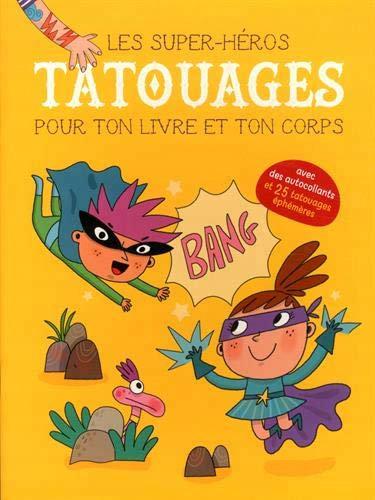 Livre créatif- Tatouages