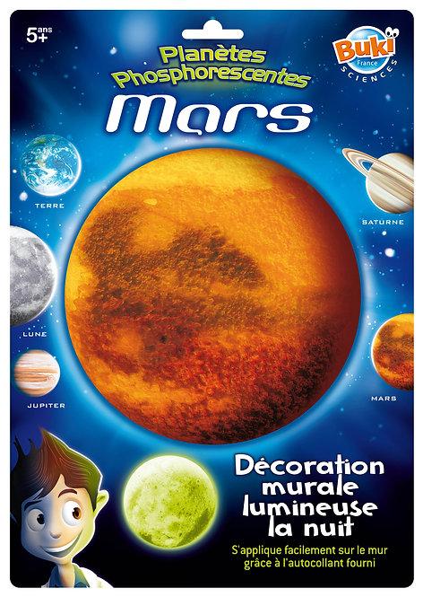 Décoration autocollante Mars