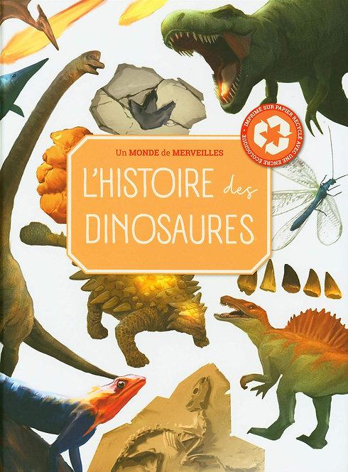 Livre découverte- L'histoire des dinosaures