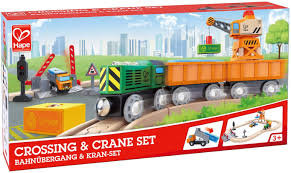 HAPE- Locomotive en bois