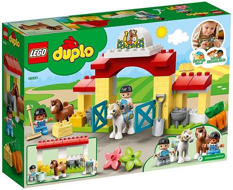 Lego L'écurie et les poneys