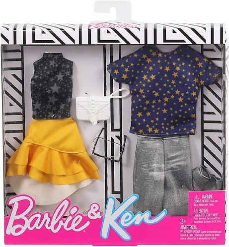Barbie Fashionistas Kit vêtements Barbie & Ken