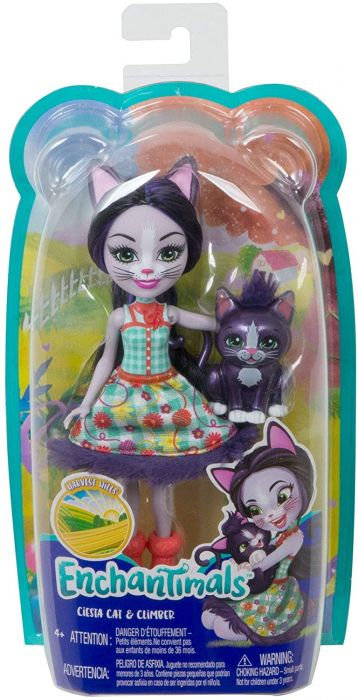 Enchantimals Ciesta cat & Climber