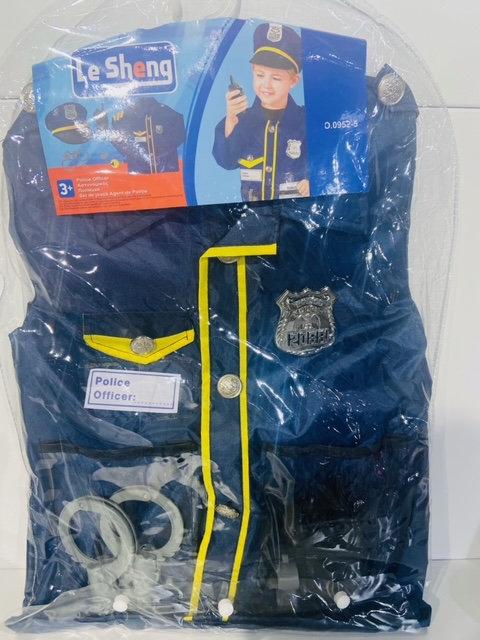 Blouse police avec accessoires