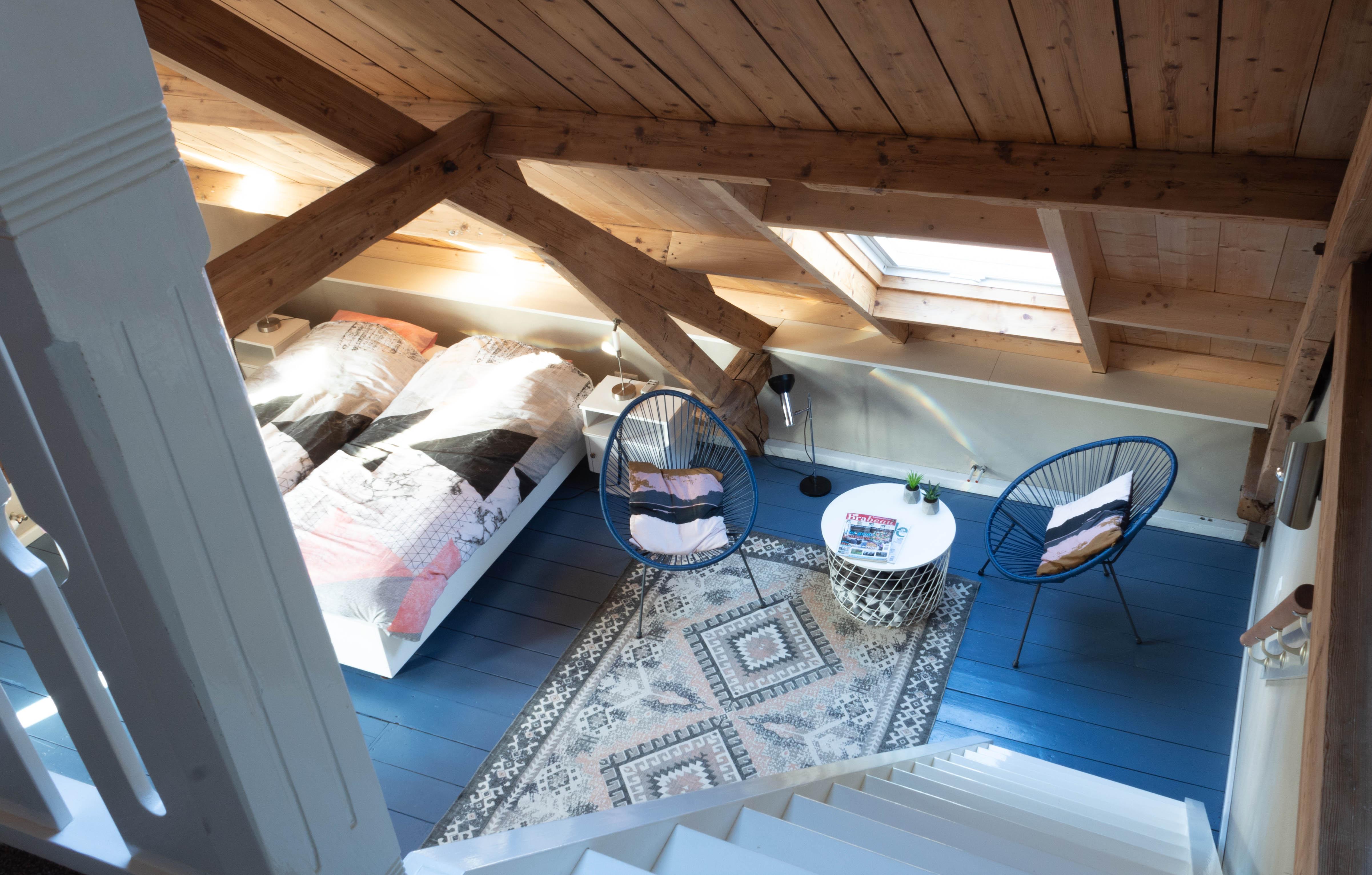 Blauwe kamer van boven
