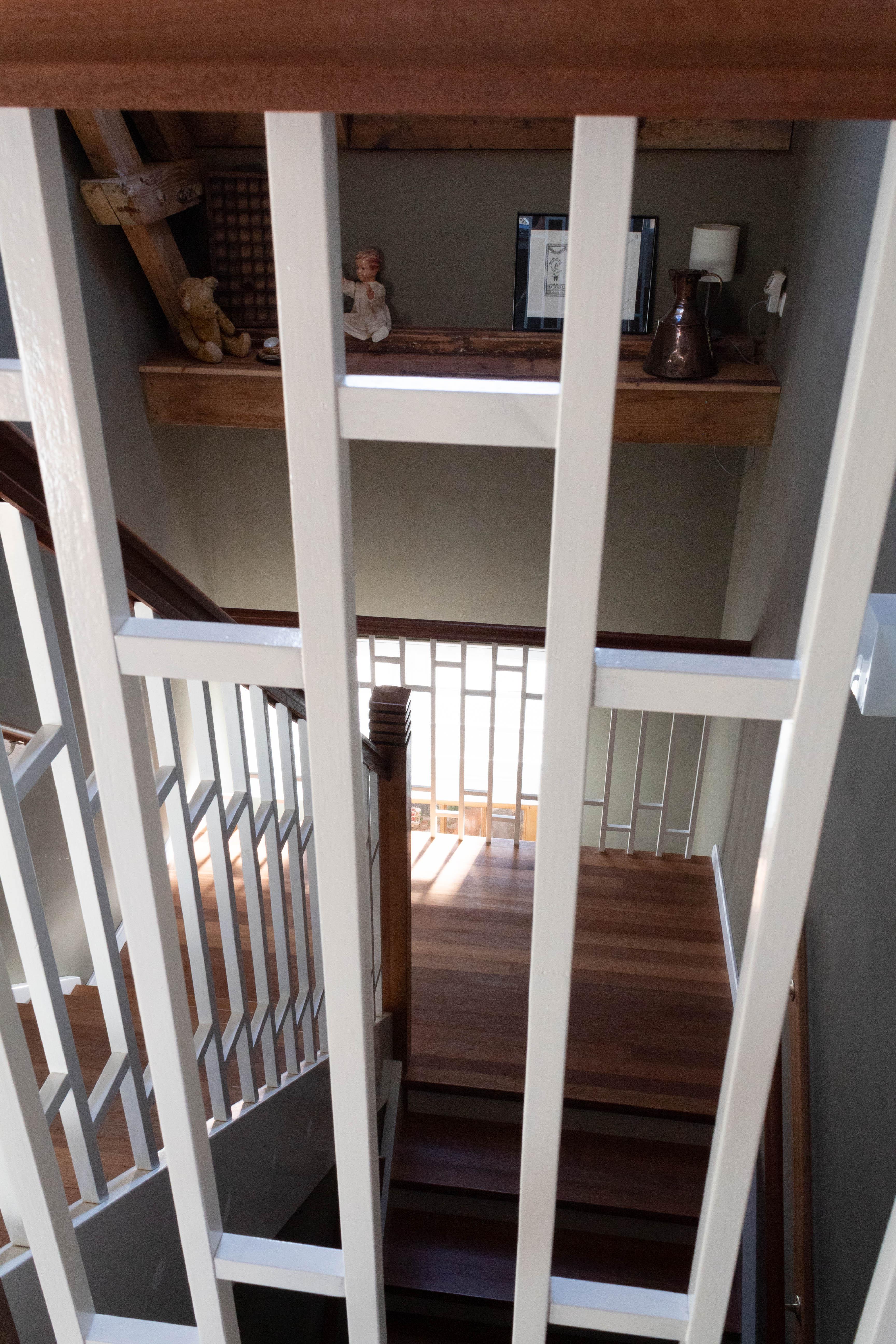 Doorkijk trap