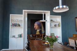 Doorkijk eetzaal - zitkamer