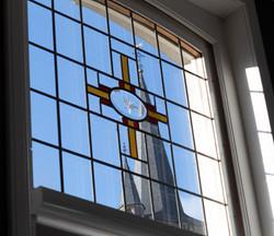 Doorkijk kerktoren