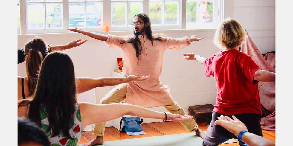 Transformational Yoga® Class at Parnell