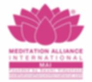LOGO- Meditation Alliance International.
