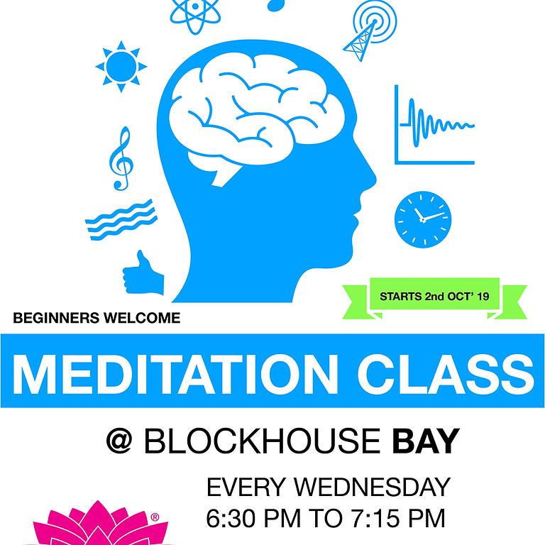 Meditation Class at Blockhouse Bay