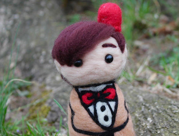 Felted Doctor with Fez