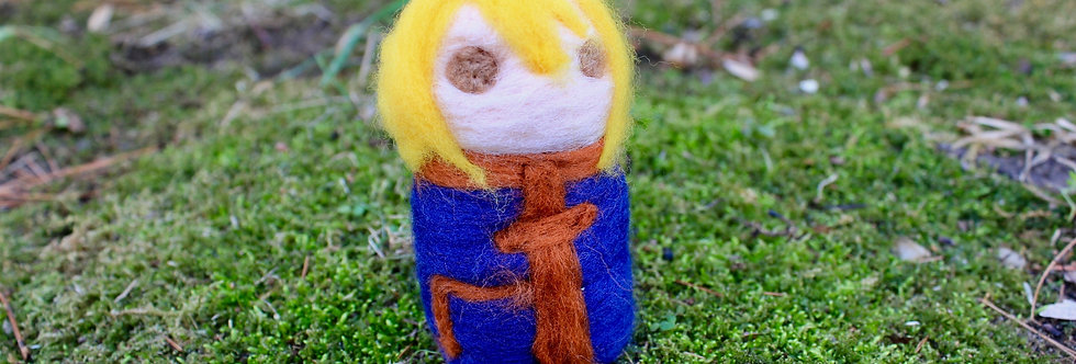 Felted Hunter Blonde Guy